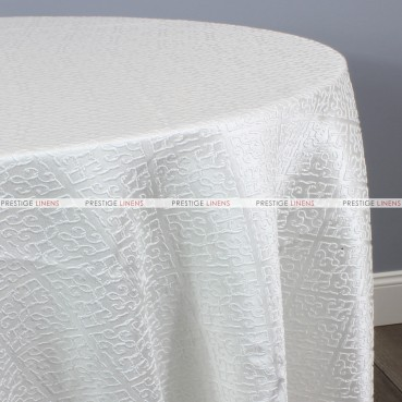 ALHAMBRA TABLE LINEN - WHITE