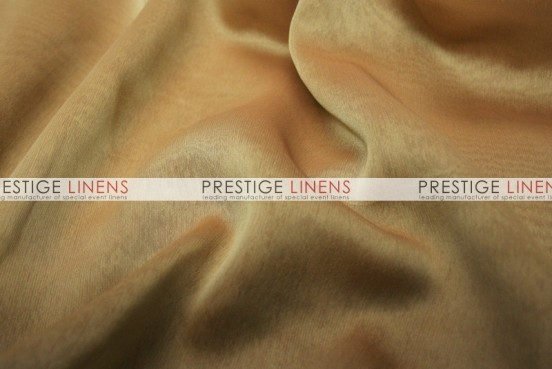 Two Tone Chiffon Draping - Mocha/Gold