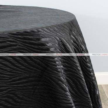 Morocco Table Linen - BLACK
