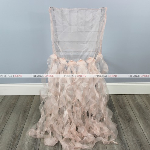 CURLY WILLOW CHAIR SLEEVE - BLUSH