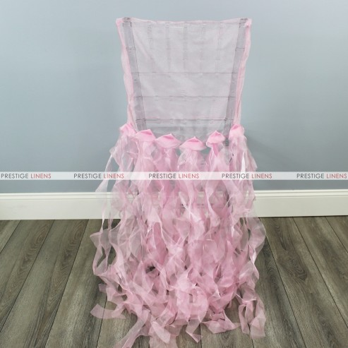CURLY WILLOW CHAIR SLEEVE - PINK