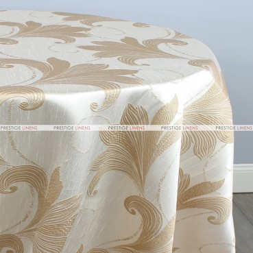 LILY TABLE LINEN - GOLD