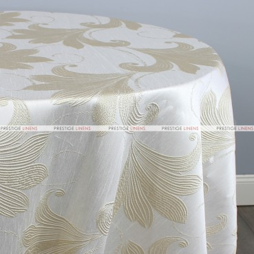 LILY JACQUARD TABLE LINEN - WHEAT