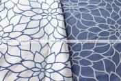 DAISY JACQUARD TABLE LINEN - BLUE