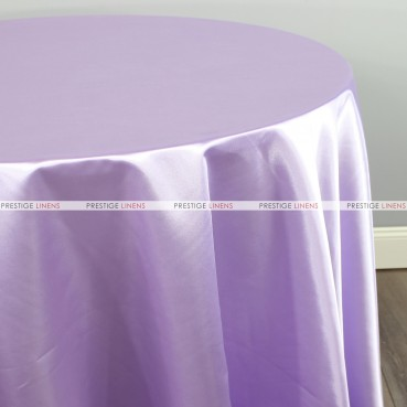 Bridal Satin Table Linen - 1026 Lavender