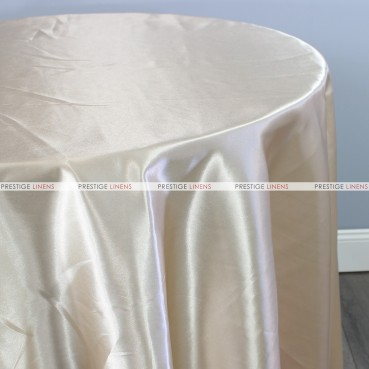 Bridal Satin Table Linen - 146 Butter