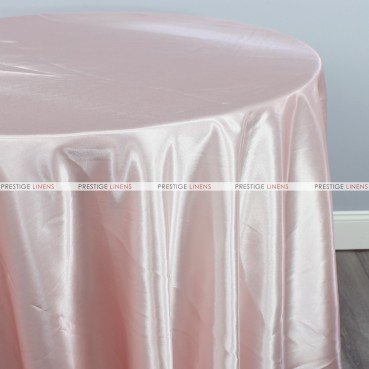 Bridal Satin Table Linen - 149 Blush