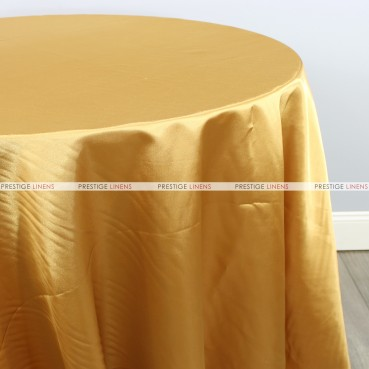 Bridal Satin Table Linen - 226 Gold