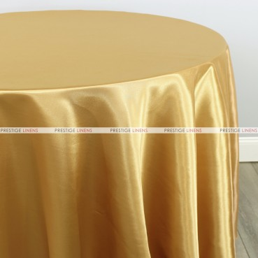 Bridal Satin Table Linen - 230 Sungold