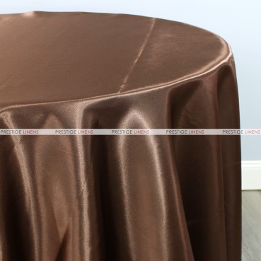 Bridal Satin Table Linen - 333 Brown