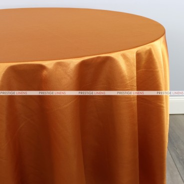 Bridal Satin Table Linen - 336 Cinnamon