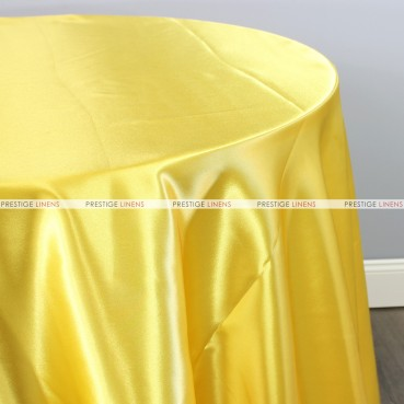 Bridal Satin Table Linen - 426 Yellow