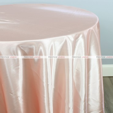 Bridal Satin Table Linen - 430 Peach