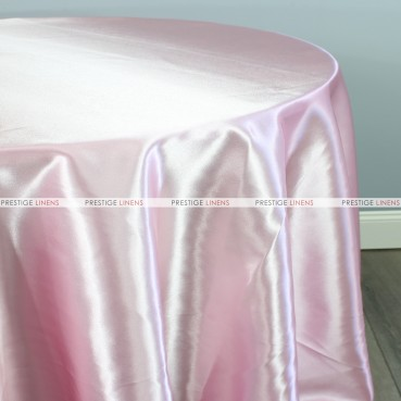 Bridal Satin Table Linen - 527 Pink