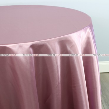 Bridal Satin Table Linen - 532 Mauve