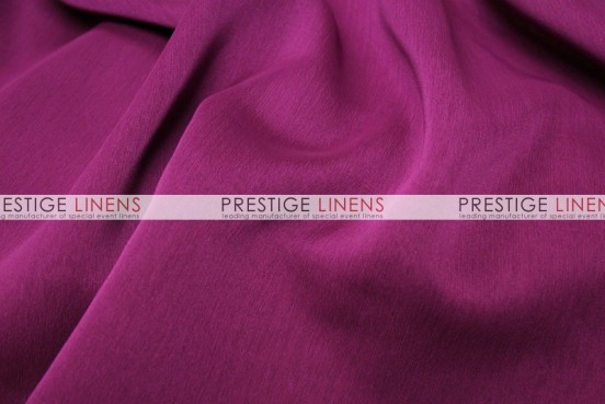 Two Tone Chiffon Draping - Raspberry