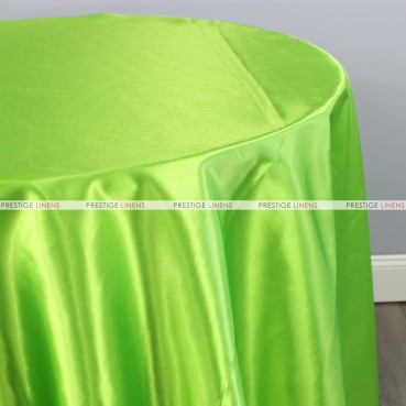 Bridal Satin Table Linen - 726 Lime