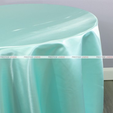 Bridal Satin Table Linen - 731 Jade