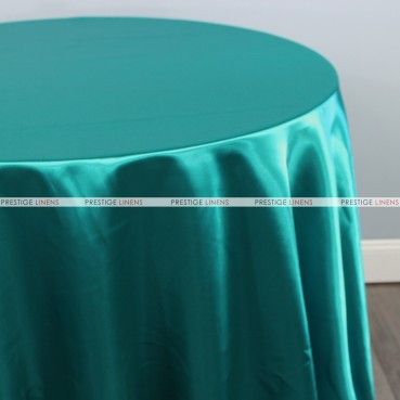 Bridal Satin Table Linen - 764 Lt Teal