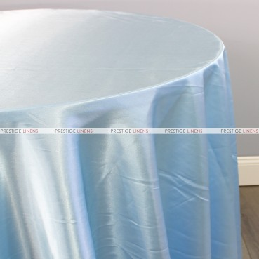 Bridal Satin Table Linen - 926 Baby Blue