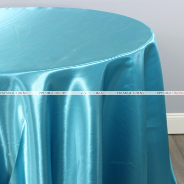 Bridal Satin Table Linen - 927 Aqua