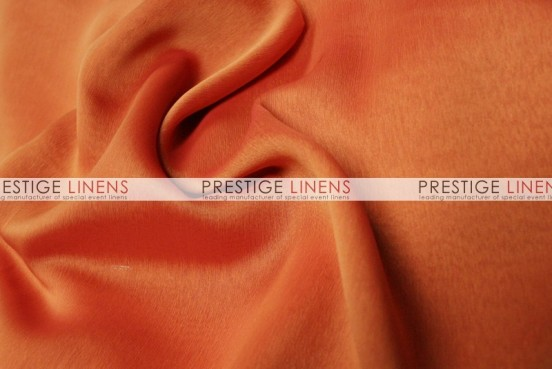 Two Tone Chiffon Draping - Red/Orange