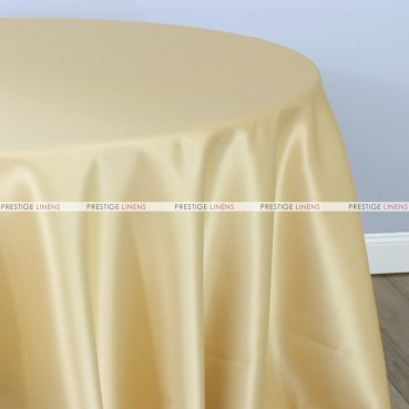 Lamour Matte Satin Table Linen - 134 Banana