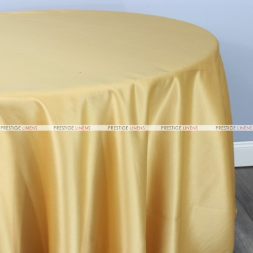 Lamour Matte Satin Table Linen - 230 Sungold