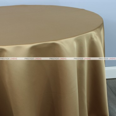 Lamour Matte Satin Table Linen - 331 Camel