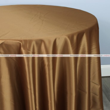 Lamour Matte Satin Table Linen - 332 Mocha