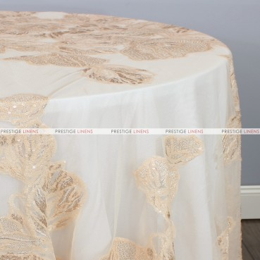 ETHEREAL TABLE LINEN - NUDE