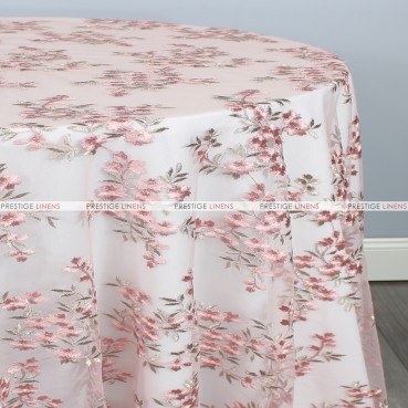 CHARMING TABLE LINEN - ROSE
