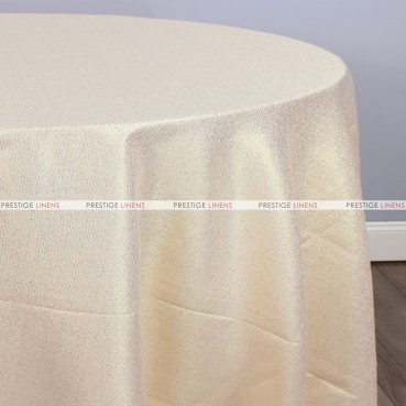 BRILLIANCE JACQUARD TABLE LINEN - BLUSH/GOLD