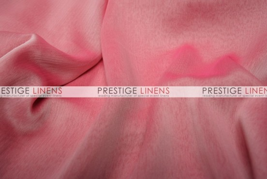 Two Tone Chiffon Draping - White/Fuchsia