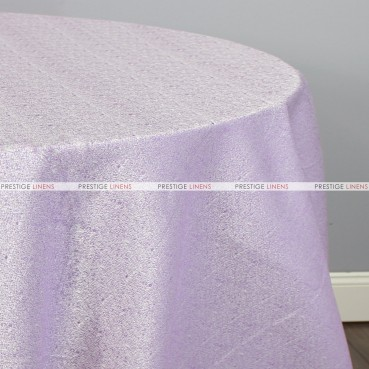 BRILLIANCE JACQUARD TABLE LINEN - LILAC/SILVER