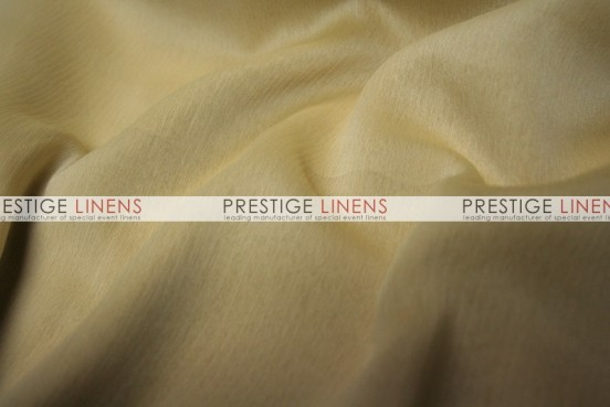 Two Tone Chiffon Draping - White/Gold