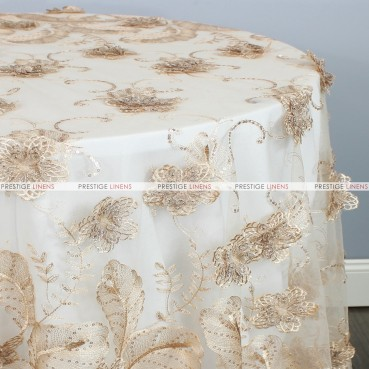 DELIGHT TABLE LINEN - CHAMPAGNE