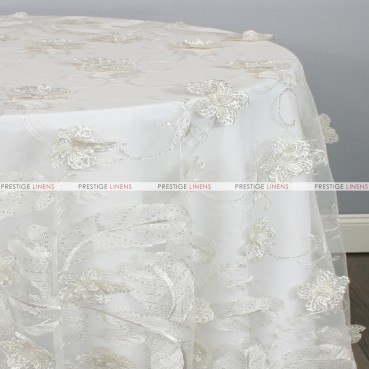 DELIGHT TABLE LINEN - IVORY