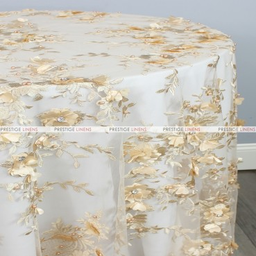 JEMSTONE TABLE LINEN - CHAMPAGNE