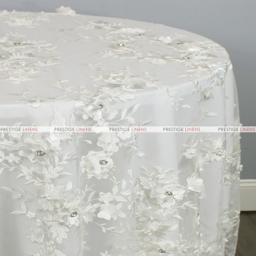JEMSTONE TABLE LINEN - IVORY