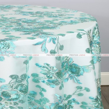 ELIS TABLE LINEN - AQUA