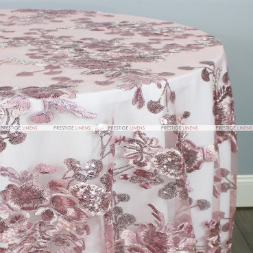 ELIS TABLE LINEN - DUSTY ROSE