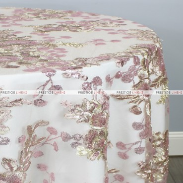 ELIS TABLE LINEN - ROSE GOLD