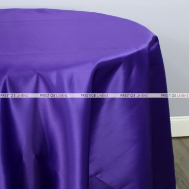 Lamour Matte Satin Table Linen - 1032 Purple