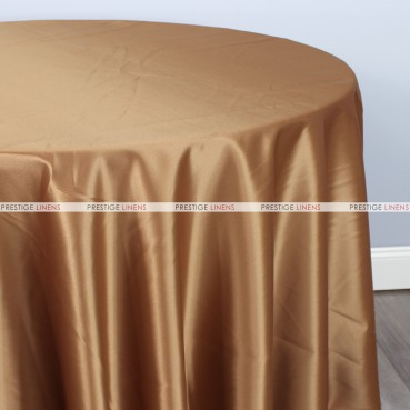 Lamour Matte Satin Table Linen - 326 Khaki