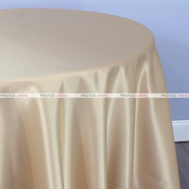 Lamour Matte Satin Table Linen - 345 Beige