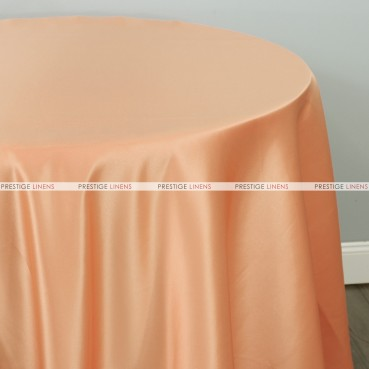 Lamour Matte Satin Table Linen - 430 Peach