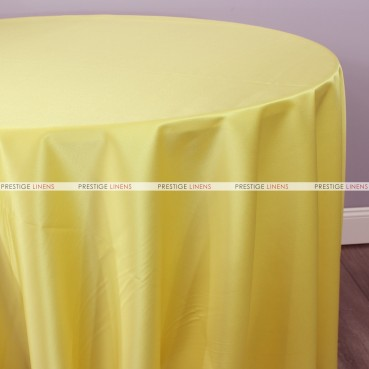 Lamour Matte Satin Table Linen - 458 Canary