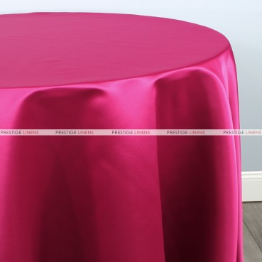 Lamour Matte Satin Table Linen - 529 Fuchsia