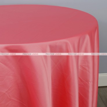 Lamour Matte Satin Table Linen - 642 Brick